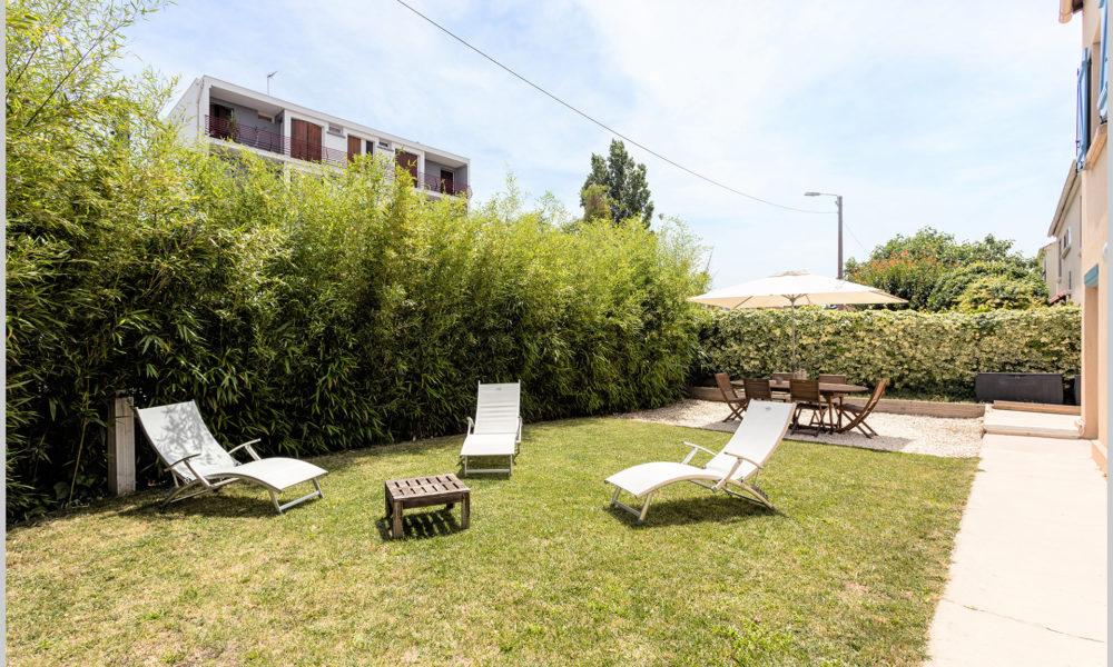 villa cassin montpellier jardin