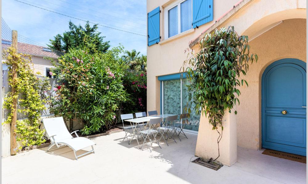 villa cassin montpellier terrasse