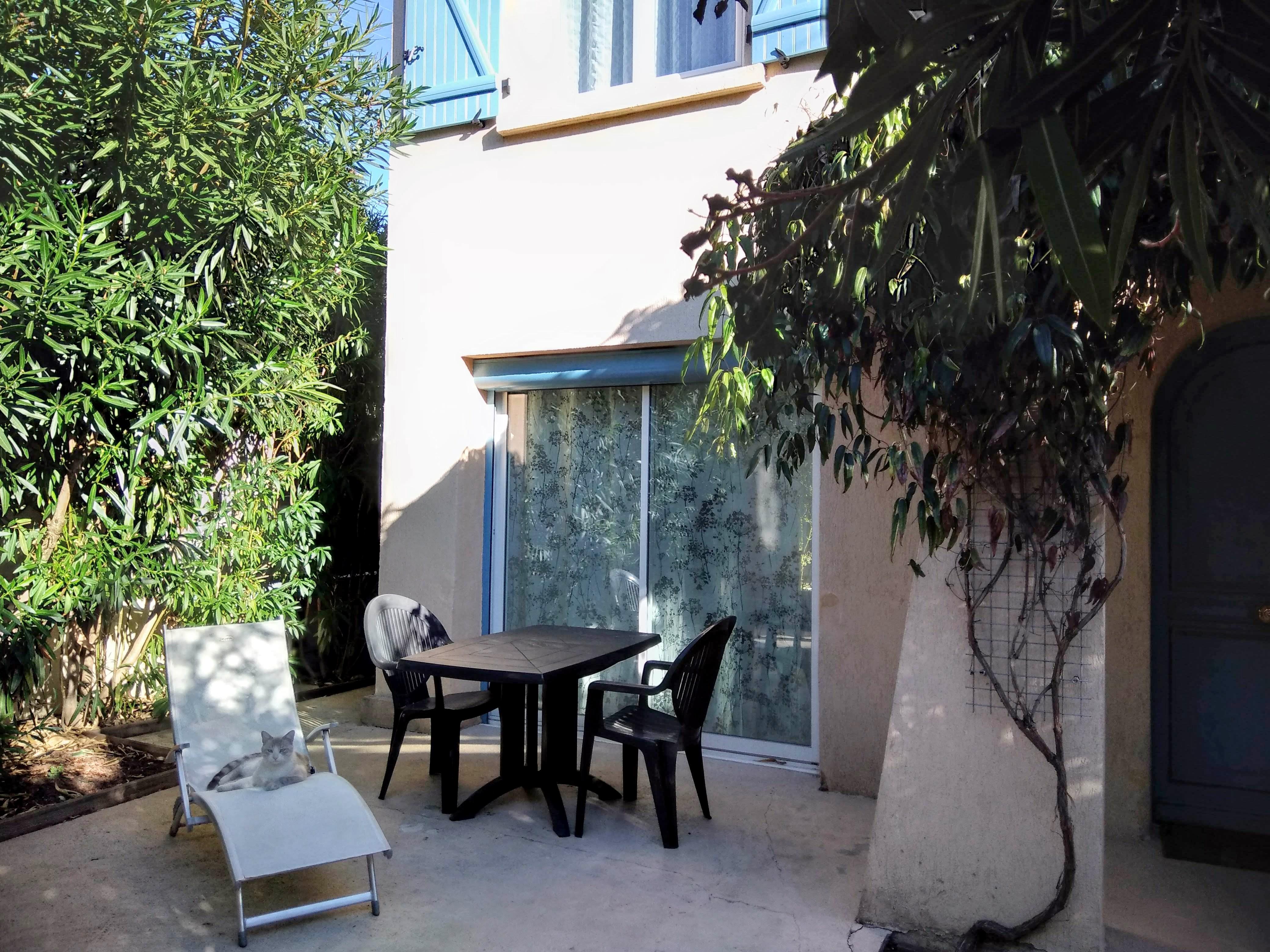 Terrasse Villa Cassin
